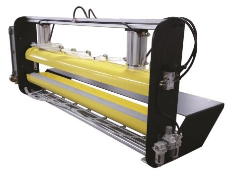 Quick Release Roll Coater