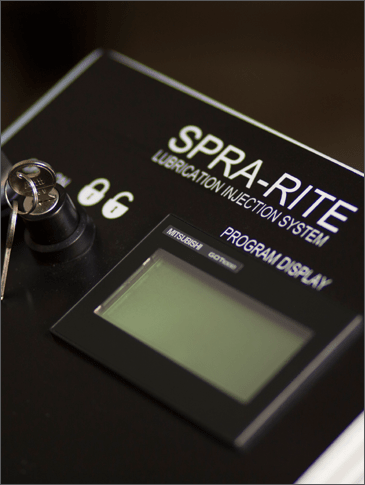 SPRA-RITE Lubricant Injector System Process Controller