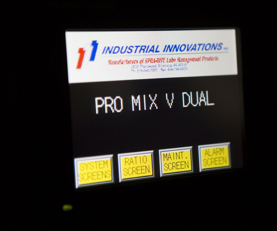 PRO-MIX V Controls | Industrial Innovations