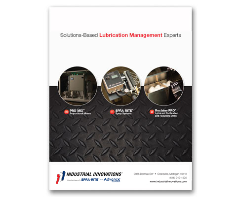 Download Industrial Innovations Complete Product Line Catalog. For more information, please call us at 616-249-1525.